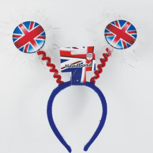 Great Britain Union Jack Adult Headboppers - One size fits most