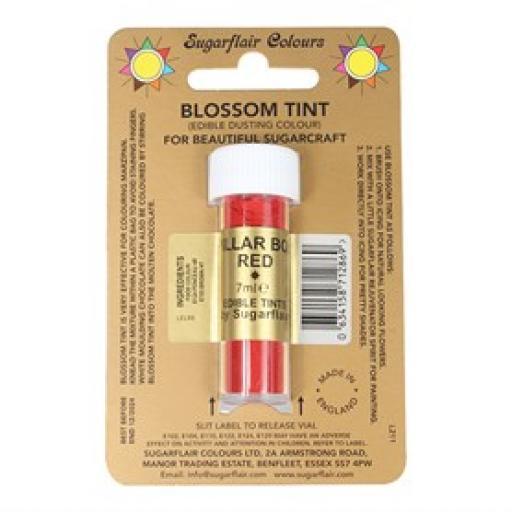 Sugarflair Blossom Tint Pillar Box Red - 7ml