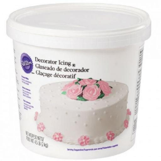 White Ready-To-Use Decorator Icing -2kg