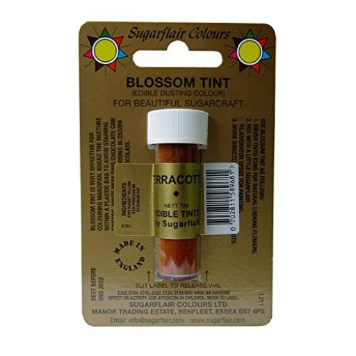 Sugarflair Blossom Tint Terracotta 7ml