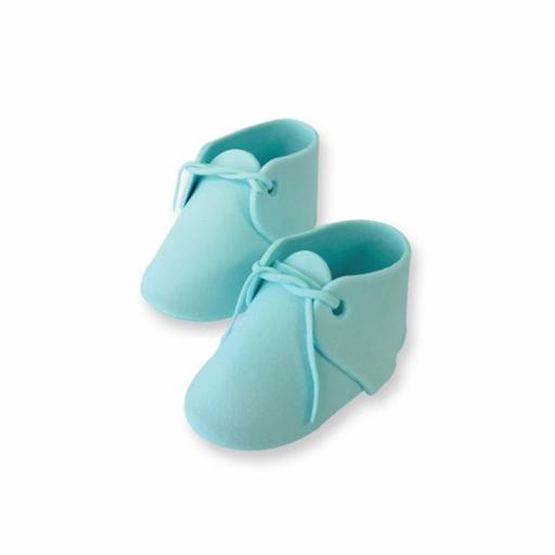 PME Blue Baby Bootee Cake Topper-88g