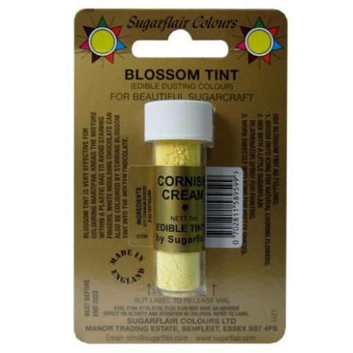 Sugarflair Blossom Tint Cornish Cream