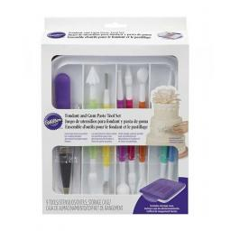 Wilton 1 Fondant and Gum Paste Tool Set