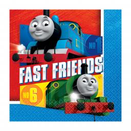 Thomas & Friends Luncheon Napkins 33cm pack of 16 2ply