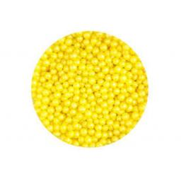 Scrumptious Glimmer Yellow Pearls – 80g