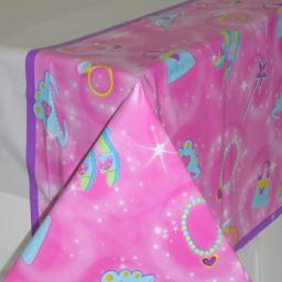 Princess Plastic Tablecover 54 x 102inch