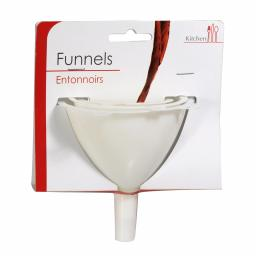 Funnel Set of 3 White