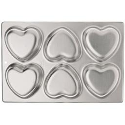Wilton 6-Cavity Mini Heart Pan
