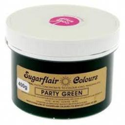 Sugarflair Spectral Paste Party Green 400g