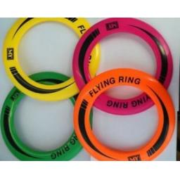 Flying Frisbee Ring Available in Assorted Neon Colours