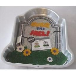 Wilton Over The Hill Tombstone Cake Pan