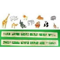 FMM Safari Animal Tappits Set