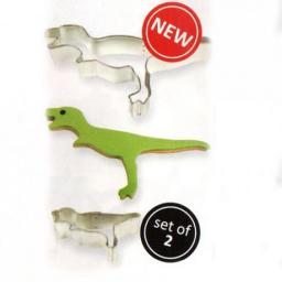 PME Dinosaur 2 Mwtal Cookie Cutters