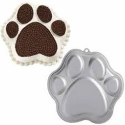 Wilton Paw Print Novelty Cake Pan
