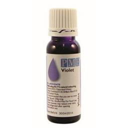 PME 100% Natural Violet Liquid Food Colour 25g