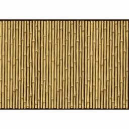 Hawaiian Bamboo Room Scene Setter 1pc 12.19m