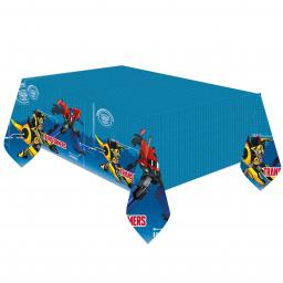 Transformers Robots in Disguise Plastic Tablecover 1.80 x 1.20m