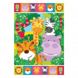 Jungle Friends Loot Bags 8pcs