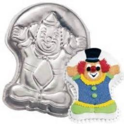 Wilton Juggling Circus Clown Cake Pan