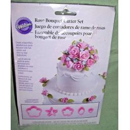 Wilton Rose / Flower Cutter Set