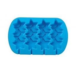 Wilton 4-Cavity Stacked Stars Silicone Mold