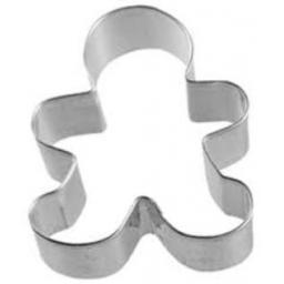 Wilton Gingerbread Boy Metal Cookie Cutter 3""