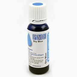 PME 100% Natural Sky Blue Liquid Food Colour 25g