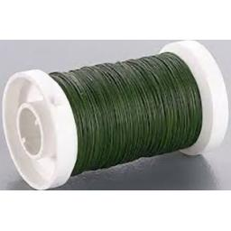 Green Wire 28g Reel, Florist Supplies