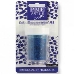 PME Edible Blue Glitter Flakes 7g