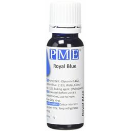 PME 100% Natural Royal Blue Liquid Food Colour 25g