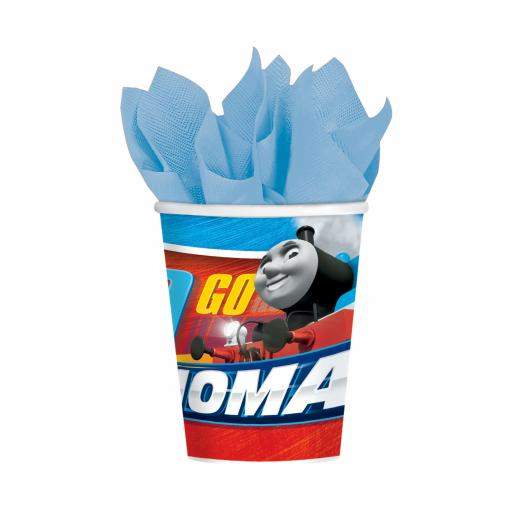Thomas & Friends Paper Cups 266ml pack of 8