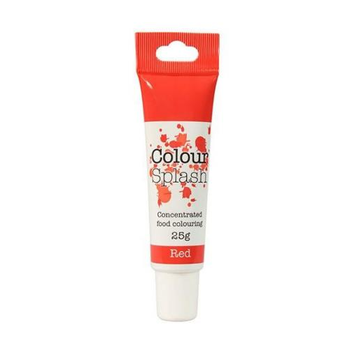 Colour Splash Food Colouring Gel -Red 25g