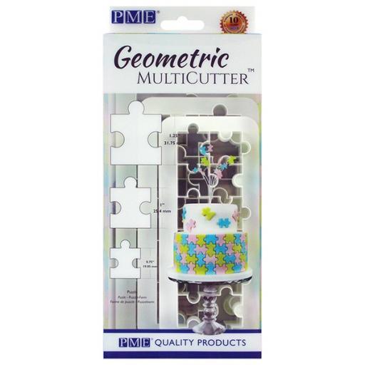 Geometric Multi-Cutter Puzzle Cutter Set