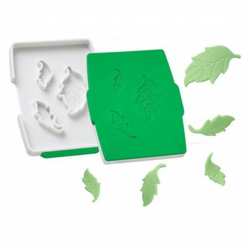 Wilton Rose Leaf Fondant Cut& Press