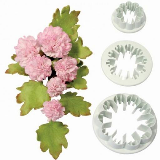 PME Cutter Set 3 Pieces Carnation