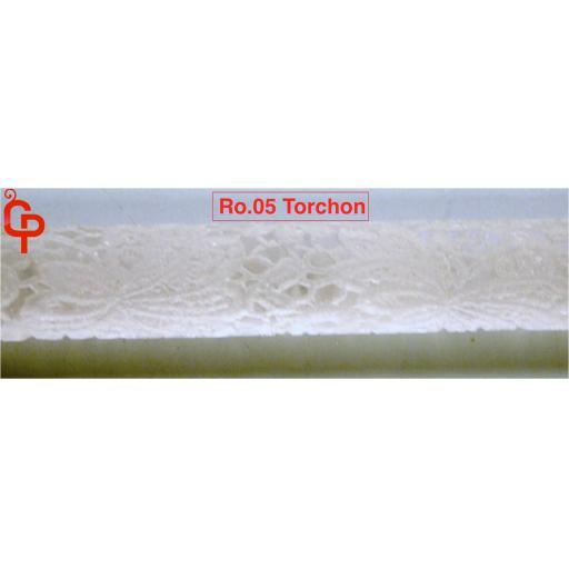Textured Rolling Pin 16in Torchon