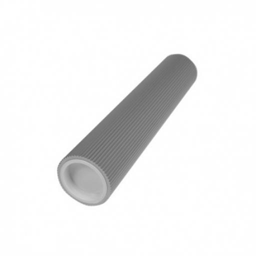 "PME Aluminum Rolling PIN 9.5"" Ribbed Smocking"