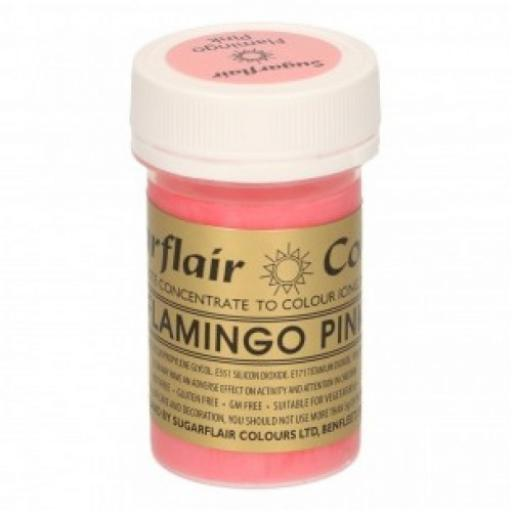 Sugarflair Spectral Flamingo Pink Paste Colour 25g