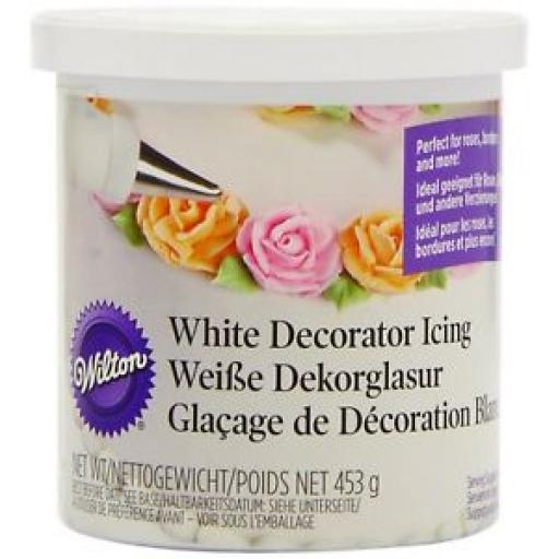 Wilton White Decorating Icing -453g