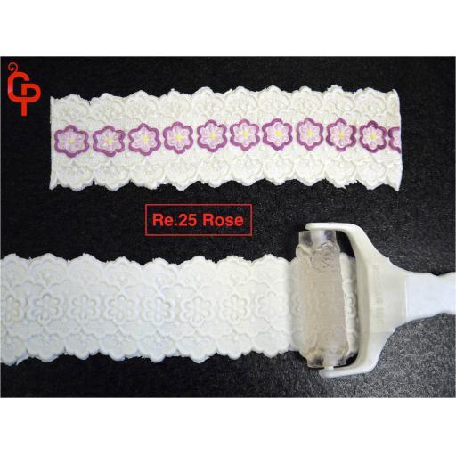 Textured Roller Rose