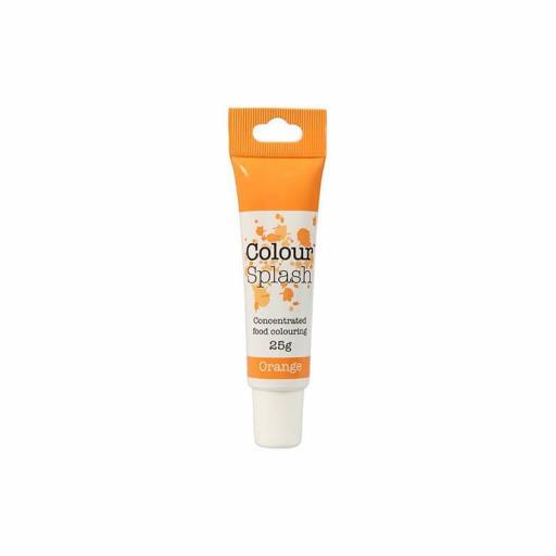 Colour Splash Food Colouring Gel - Orange - 25g