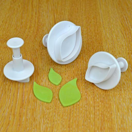 Curved Leaf Plunger Cutterss -Set