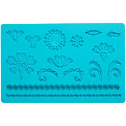 Wilton Fondant and Gum Paste Mould Damask