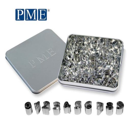 PME Alphabet Metal Cutter Set
