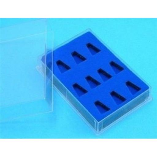 PME Icing Tube Box for 10 Piping Nozzles Tips
