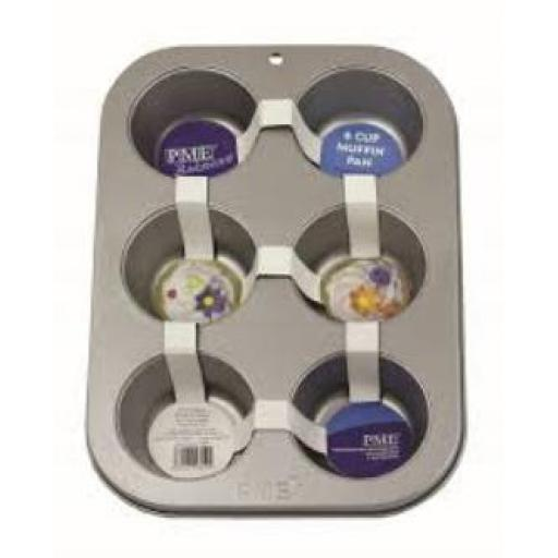 PME 6 Cup Muffin Pan