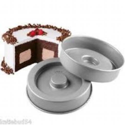 Wilton Fanci-Fill Cake Pan Set