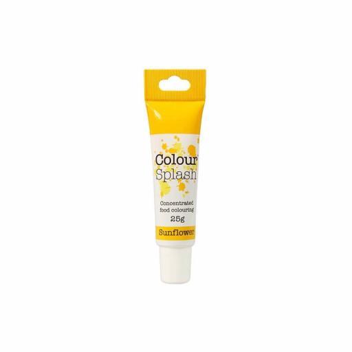 Colour Splash Food Colouring Gel - Sunflower- 25g