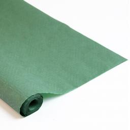Damask Banqueting Roll Dark Green Paper 118 x 7m