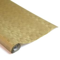 Damask Banqueting Roll 118 x 7m Gold Paper